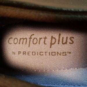 Predictions Shoes - Predictions Comfort Plus Black Flats Ballerina 8.5